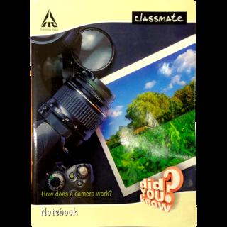 itc classmate single line notebook size 31 4 x 19 4 cm 160