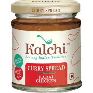 kalchi Kadhai Chicken Curry Spread