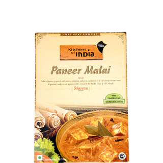Incroyable Kitchens Of India Paneer Malai Ready To Cook Meal