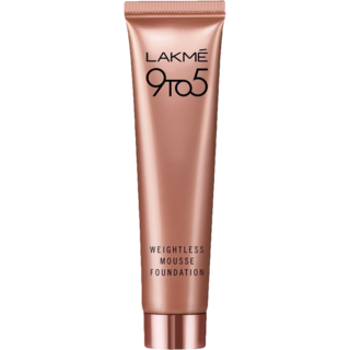 Lakme 9 to 5 Weightless Mousse Foundation Rose Ivory