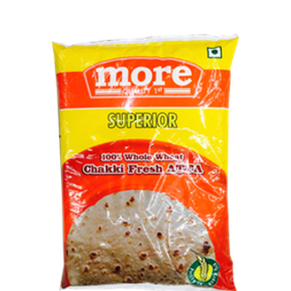 More Choice Superior Whole Wheat Chakki Fresh Atta