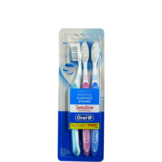 Oral B Sensitive Whitening Toothbrush Soft