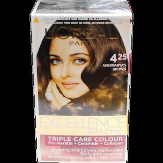LOreal Paris Excellence Creme Aishwarya\'s Brown 425 Hair Colour ...