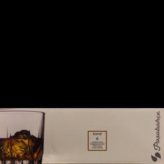 Pasabahce Karat Whisky Glass Plain Set Of 6 Nos