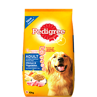Pedigree Adult Dog Food Chicken & Vegetables