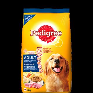 Pedigree Adult Dog Food Chicken Vegetables 3 Kg Buy Online