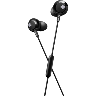 Philips SHE 4305 Black Earphone With Mic