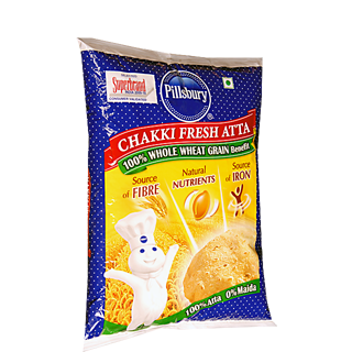 Pillsbury Whole Wheat Chakki Fresh Atta