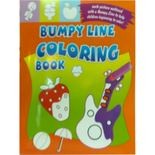 Sterling Bumpy Line Colouring Book