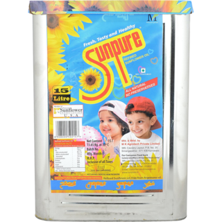 Sunpure Refined Sunflower Oil
