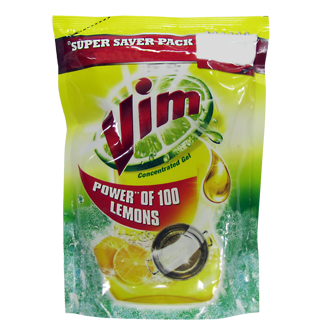 Vim Power of 100 Lemon Liquid Dishwash