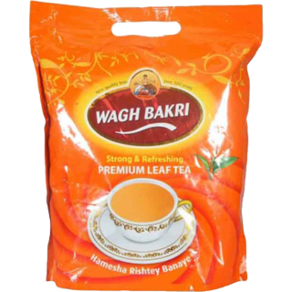 Wagh Bakri Strong And Refreshing Tea Pouch