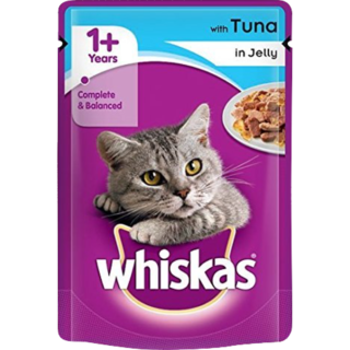 Whiskas Adult Cat Food Tuna in Jelly Pouch