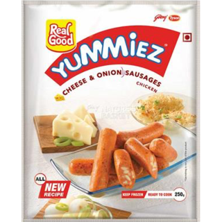 Yummiez Chicken Cheese And Onion Sausages