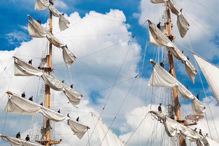 Detailafbeelding van Verwelkom de Tall Ships