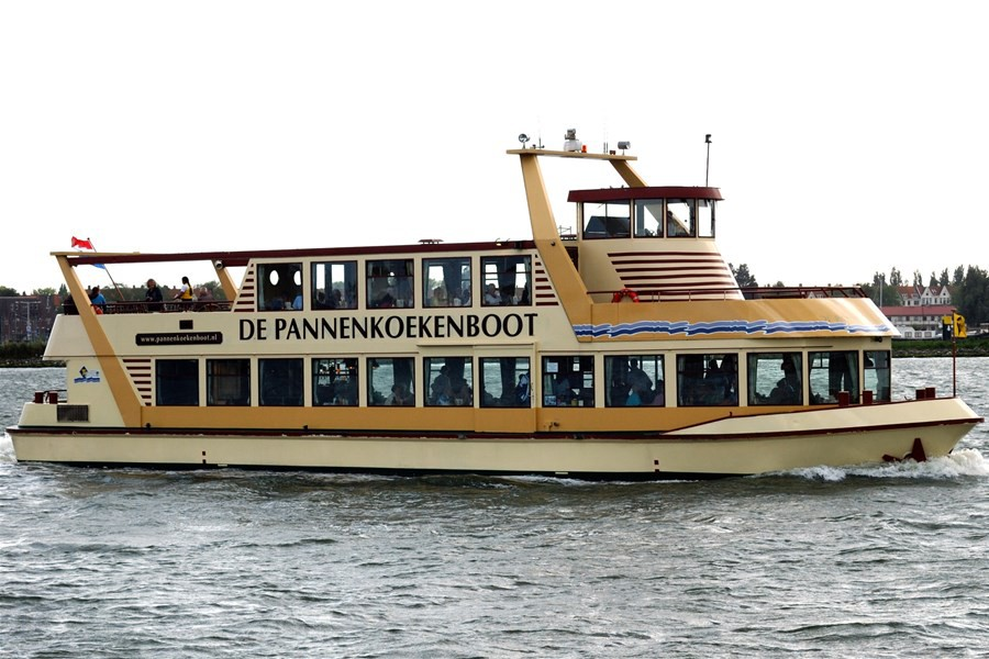 Detailafbeelding van Pannenkoekenboot