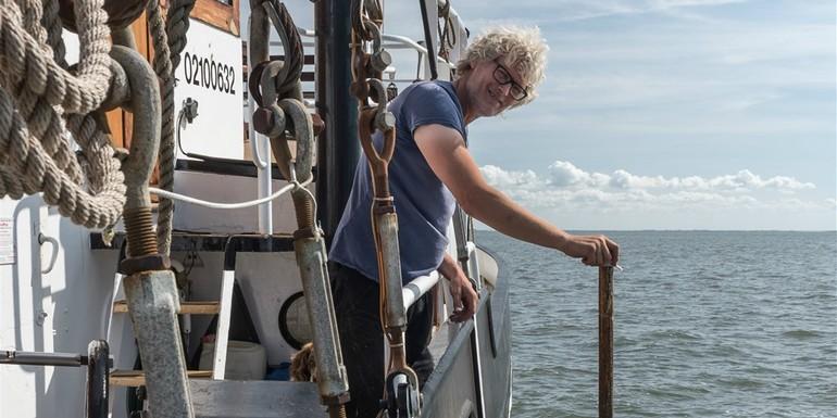 Tophost en schipper Andries Terpstra Linde