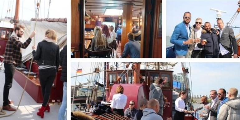 Blog bedrifsuitje BOMA op de Willem Barentsz