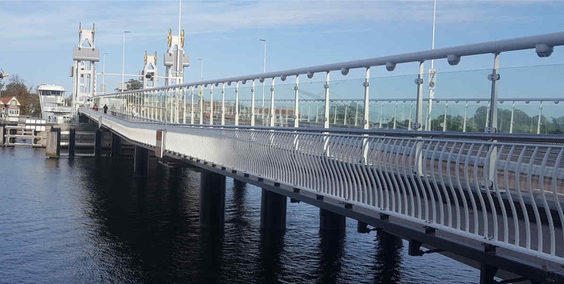 Stadtbrücke Kampen