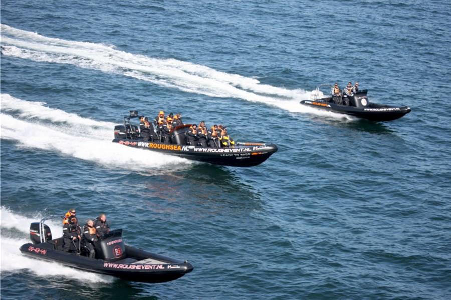 Detailafbeelding van Adrenalineboost tijdens RIB vaartocht