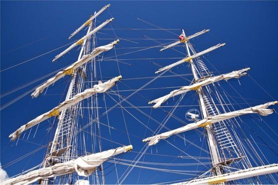 Tall ship De Eendracht