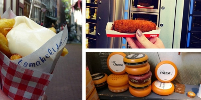 Amsterdam Must Try Foods
