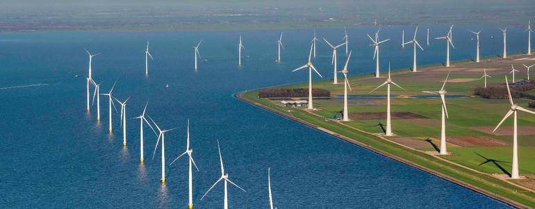 Zeil mee door Windpark Noordoostpolder