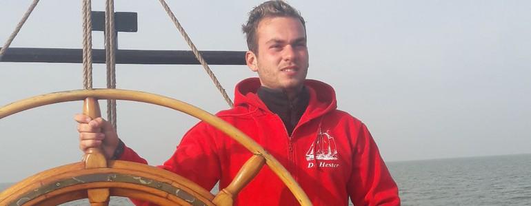Voorstellen Luca Spano, de schipper van de Hester