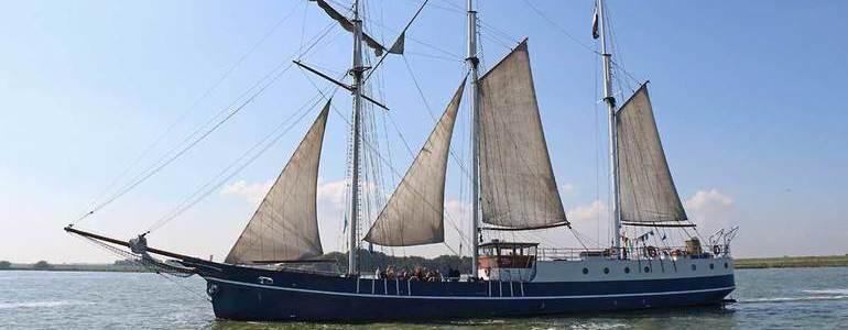 Even voorstellen: Sven, schipper van de Admiraal van Kinsbergen