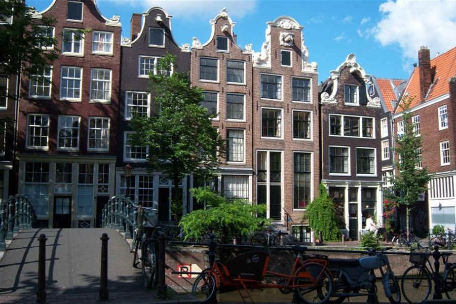 Detailafbeelding van Stadswandeling in Amsterdam