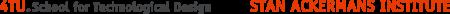 Logo 4TU.School for Technological Design, Stan Ackermans Institute