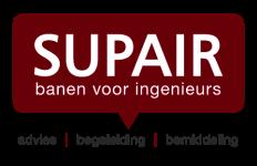 Logo SUPAIR banen voor ingenieurs